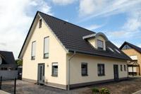 grundrissidee haus mit einliegerwohnung zweifamilienhaus m nsterland steinfurt massivhaus. Black Bedroom Furniture Sets. Home Design Ideas