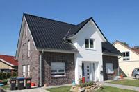 Einfamilienhaus neubau satteldach klinker  Grundrissidee Massivhaus Greven Nordwalde, Haus bauen, planen und ...