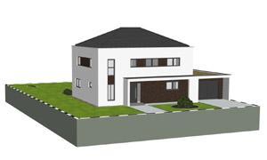Aktuelles einfamilienhaus planungen 3d architektur - Zwo architekten ...