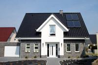 Massivhaus satteldach  Klassische Einfamilienhäuser in NRW und Niedersachsen ...