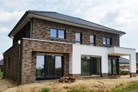 Massivhaus bauen schl sselfertiges bauen zum festpreis for Modernes haus staffelgeschoss