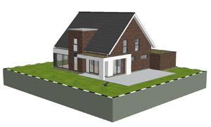 aktuelles einfamilienhaus planungen 3d architektur. Black Bedroom Furniture Sets. Home Design Ideas