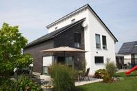 Massivhaus bauen schl sselfertiges bauen zum festpreis for Klinkerhaus modern