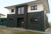 Stadtvilla klinker dunkel  Stadtvilla bauen, Stadthaus bauen, Einfamilienhäuser in NRW und ...