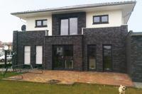 Stadtvilla weiße klinker  Stadtvilla bauen, Stadthaus bauen, Einfamilienhäuser in NRW und ...