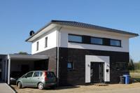 Stadtvilla modern klinker  Stadtvilla bauen, Stadthaus bauen, Einfamilienhäuser in NRW und ...